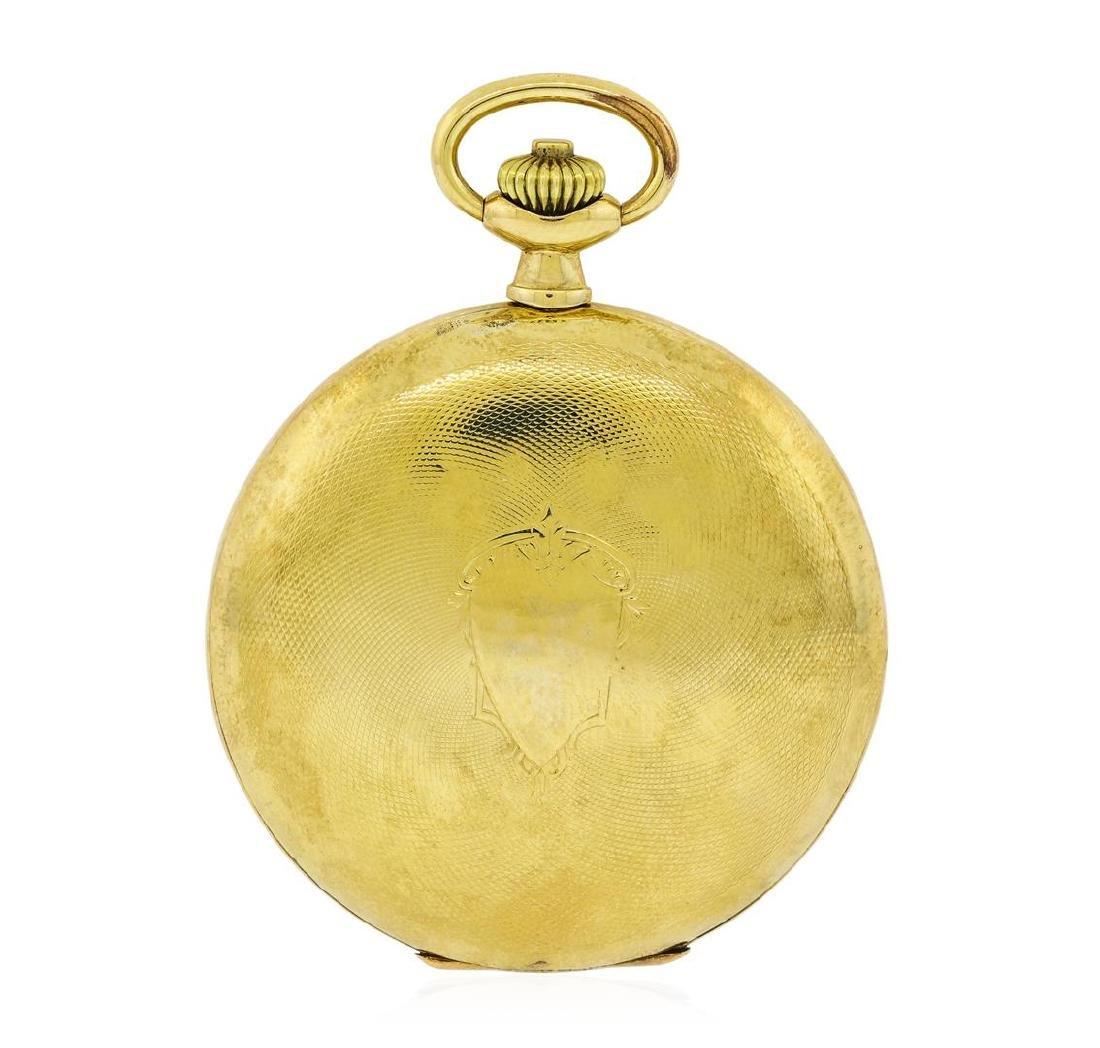 Vintage Omega Pocket Watch - 14KT Yellow Gold
