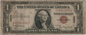 1935 $1 Hawaii Federal Reserve Note Currency