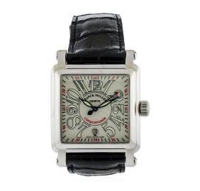 Franck Muller Cortez 18KT White Gold Conquistador Watch