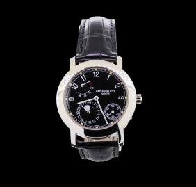 Patek Philippe Moonphase 18KT White Gold Watch
