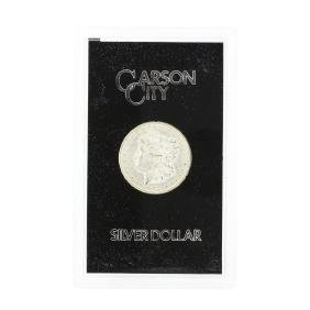1882 Carson City Uncirculated Silver Dollar