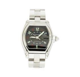 Cartier Stainless Steel Roadster Watch