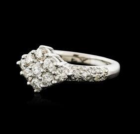 14KT White Gold 1.25 ctw Diamond Ring