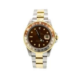 Gents Rolex Date Model Two Tone Gmt-master Ii