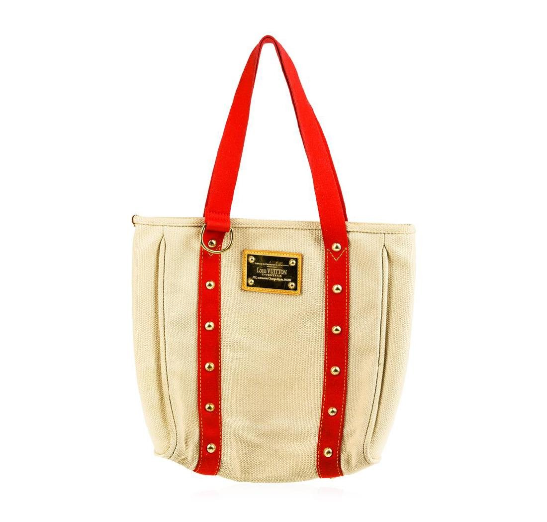 Louis Vuitton Red Stripes