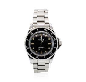 Rolex Stainless Steel Submariner Wristwatch