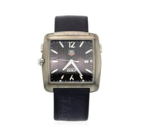 Tag Heuer Stainless Steel Pro Golf Watch By Tiger Woods