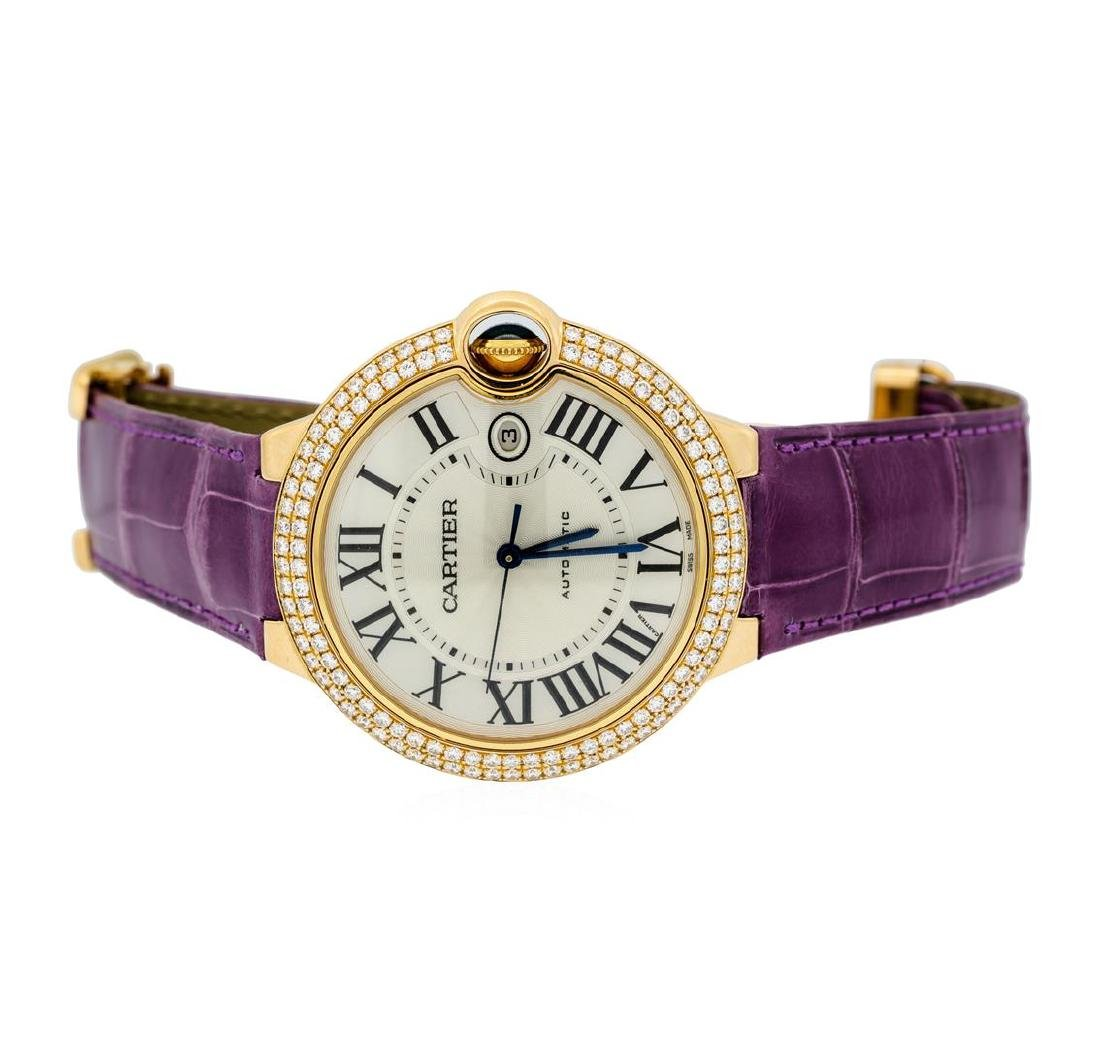 Cartier 18KT Rose Gold Ballon Bleu Watch - 2