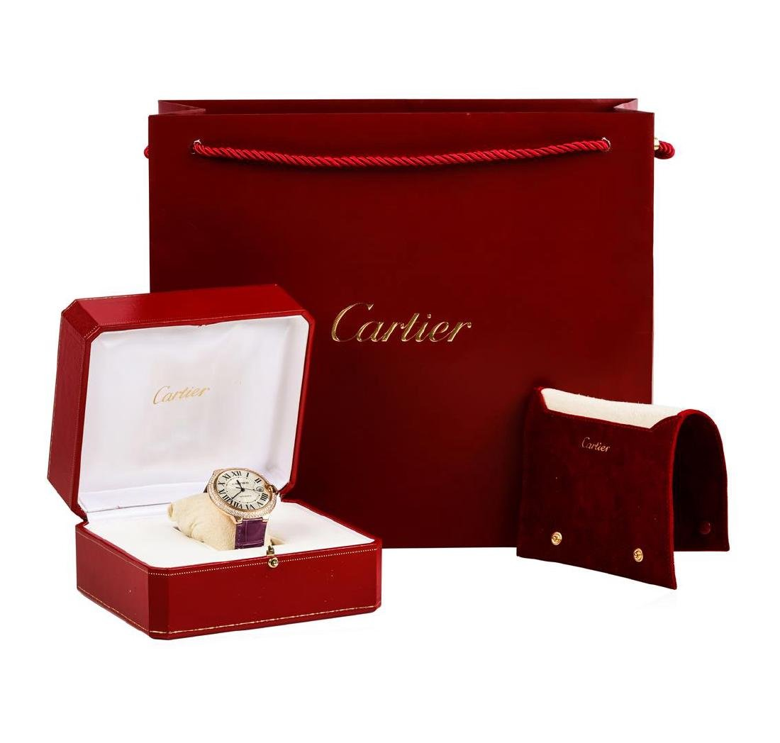 Cartier 18KT Rose Gold Ballon Bleu Watch - 6