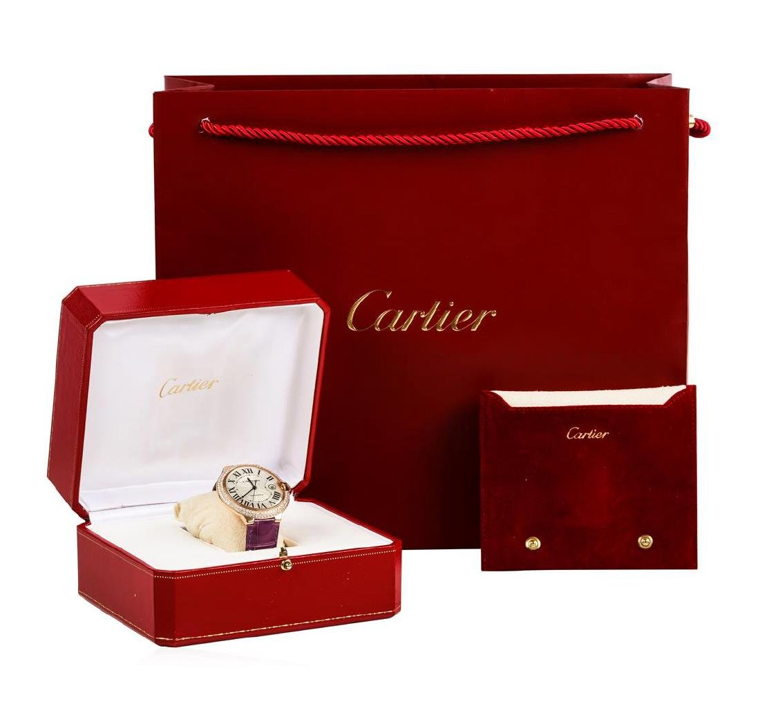 Cartier 18KT Rose Gold Ballon Bleu Watch - 7