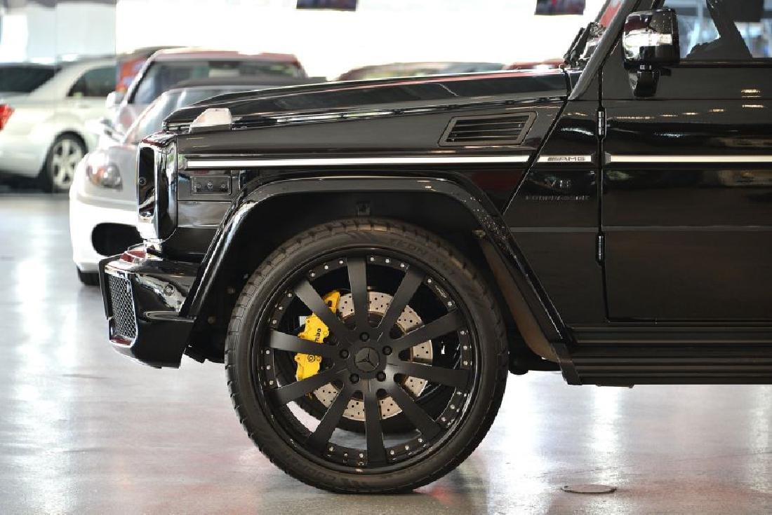 2010 Black Mercedes-Benz G-Class G55 AMG 4MATIC SUV - 5