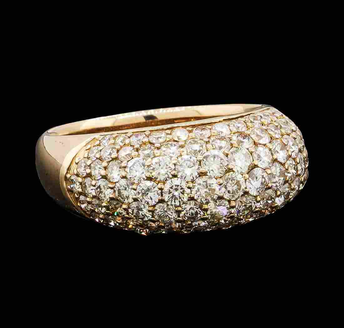 2.02 ctw Diamond Ring - 18KT Rose Gold