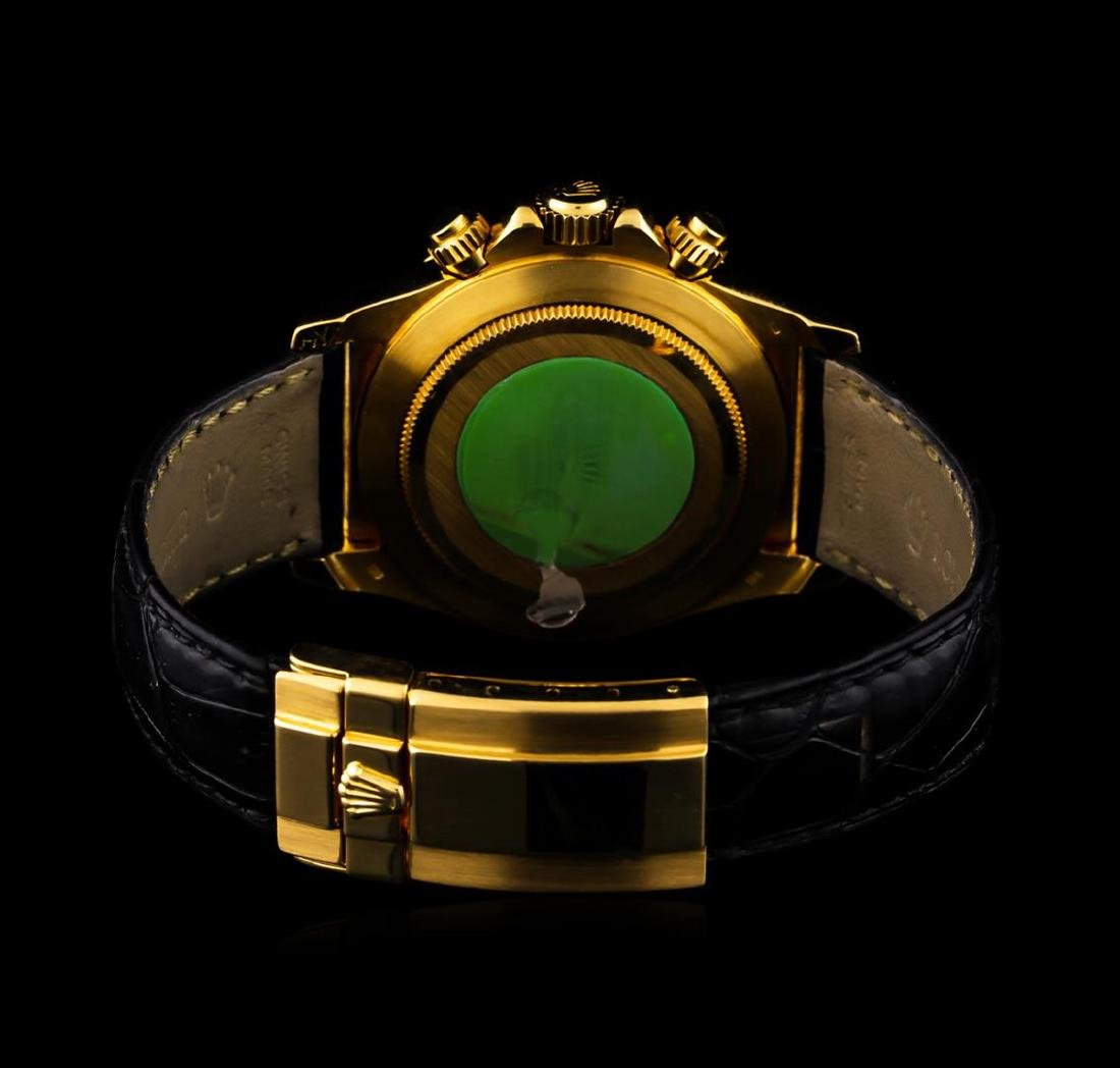 Rolex 18KT Yellow Gold Daytona Cosmograph Watch - 3