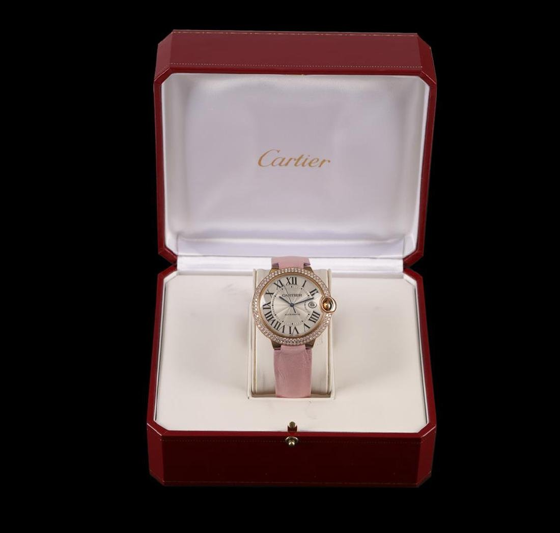 Cartier 18KT Yellow Gold 2.00 ctw Diamond Ballon Bleu