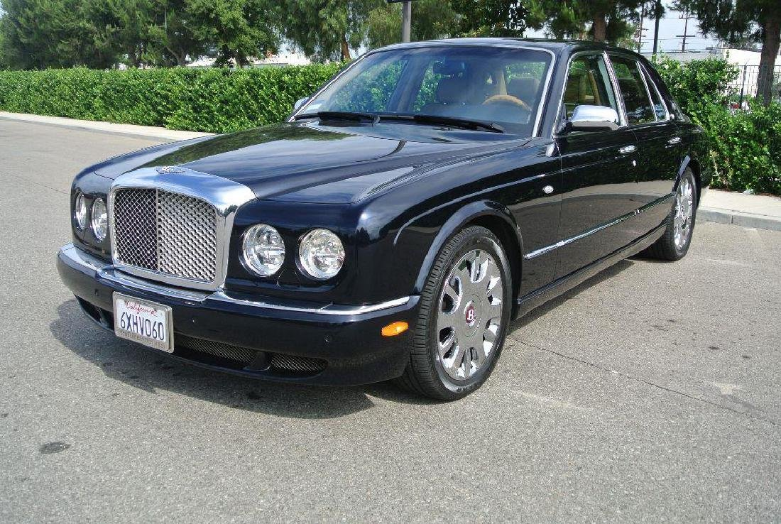 2005 Black Bentley Arnage R Part 45