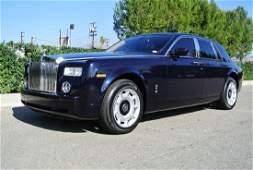 2004 Blue Rolls Royce Phantom