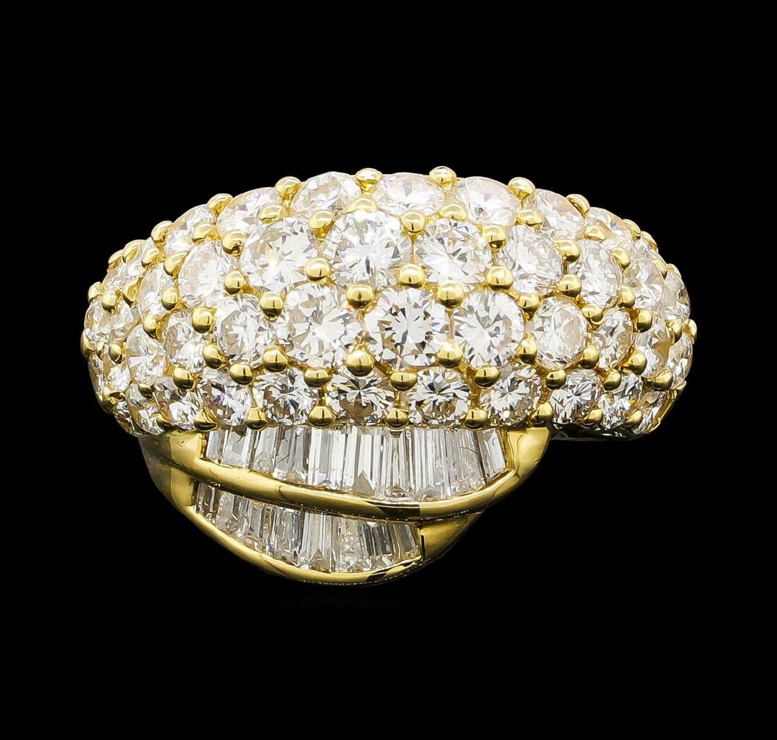 3.10 ctw Diamond Ring - 18KT Yellow Gold - 2