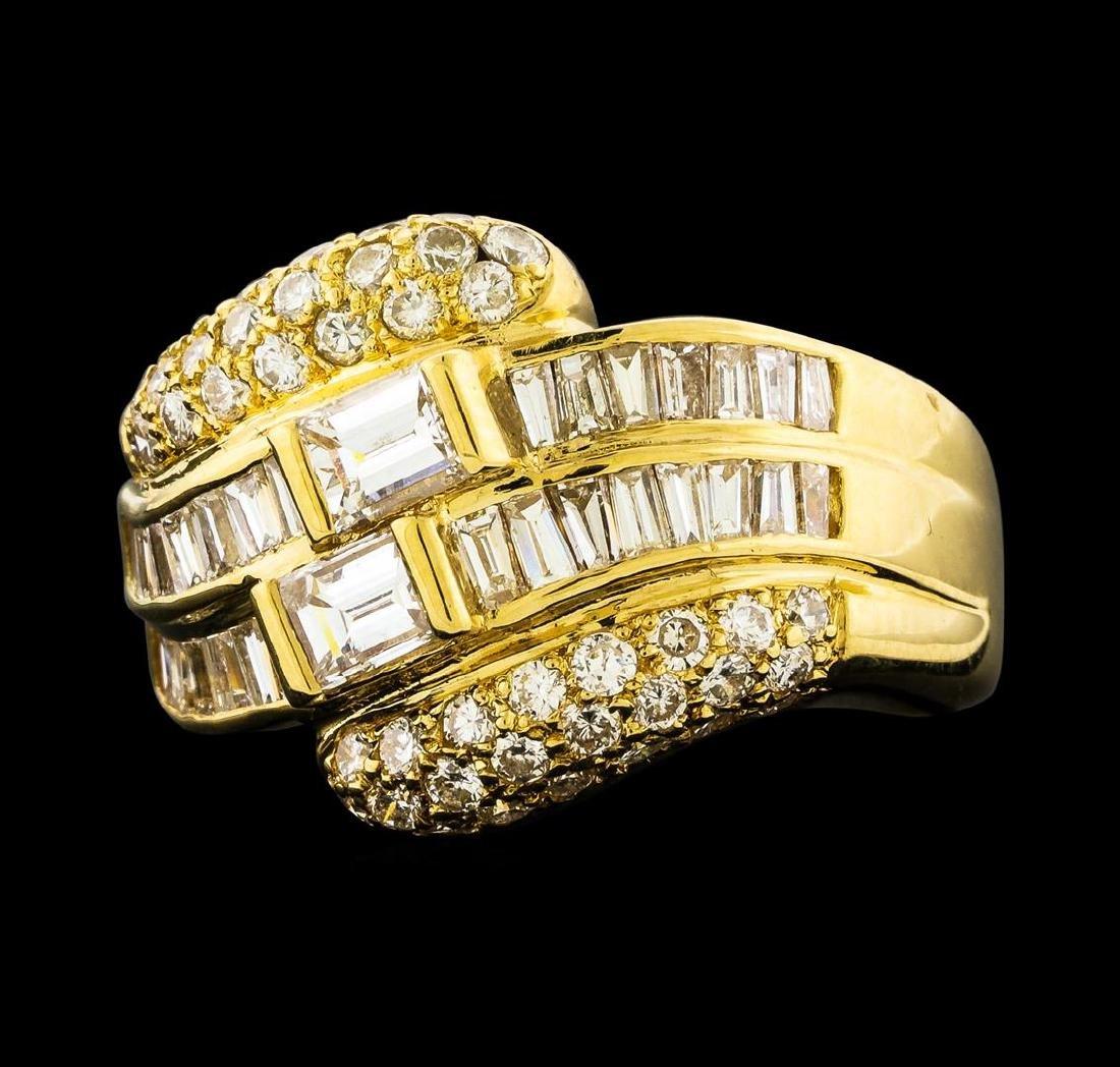 1.79 ctw Diamond Ring - 18KT Yellow Gold