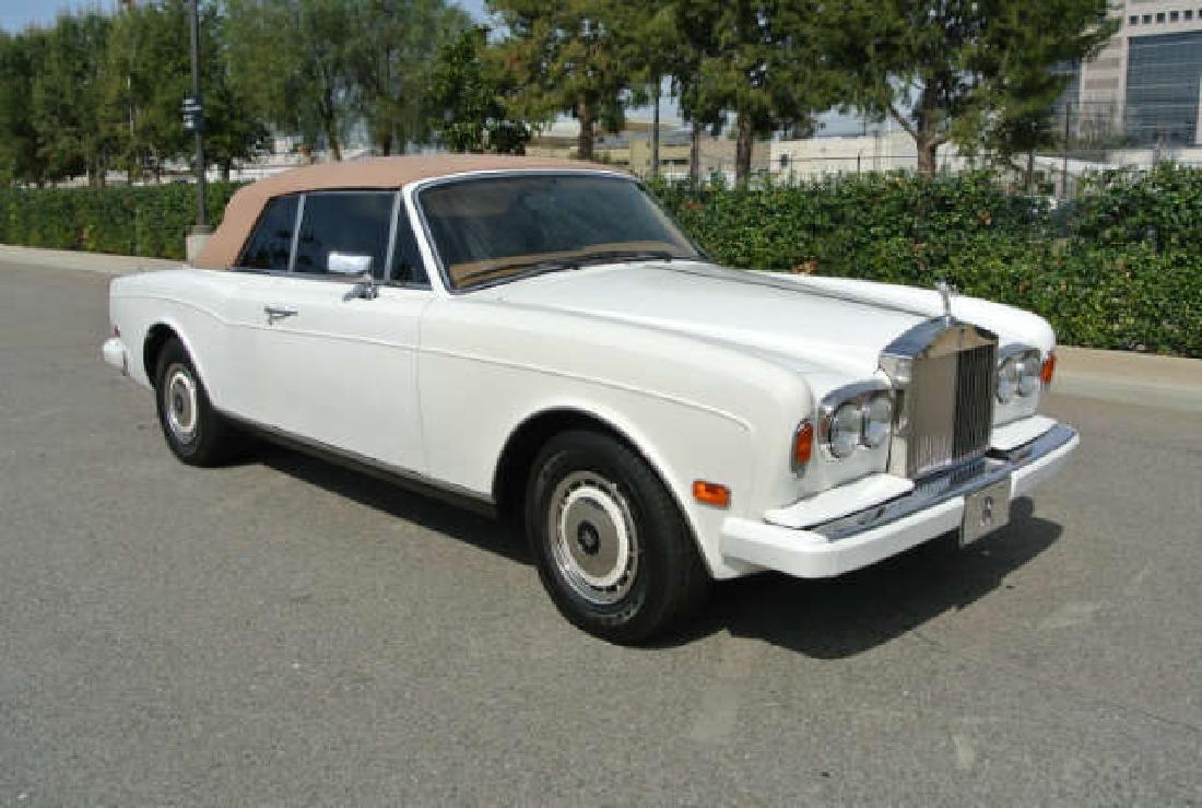 1994 White Rolls Royce Corniche IV