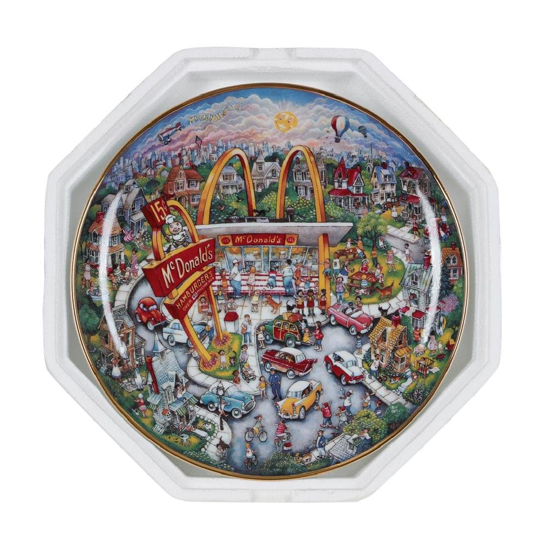"Bill Bell ""Golden Moments"" Collector Plate from the"