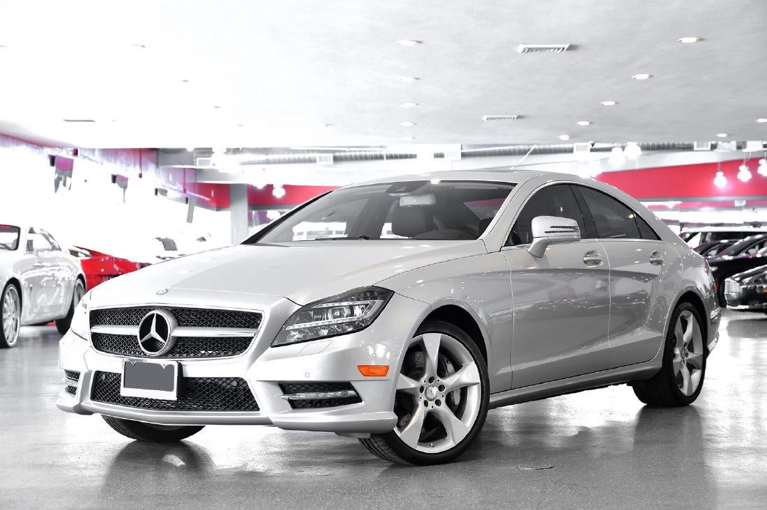2013 Silver Mercedes-Benz CLS-Class CLS550 Coupe