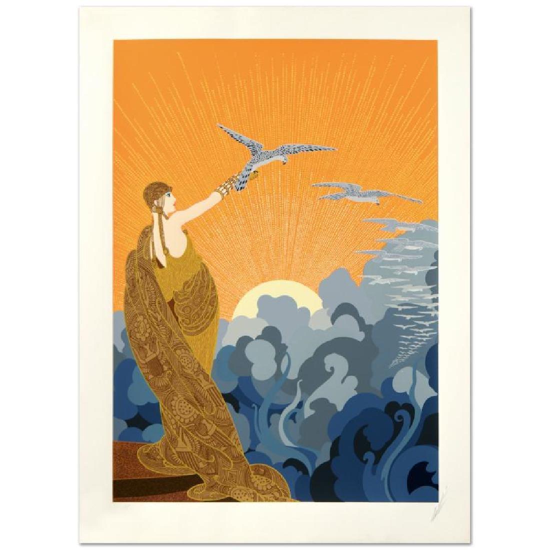 Wings of Victory by Erte (1892-1990)
