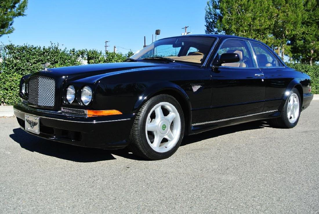 2000 Black Bentley Continental R Millennium Edition