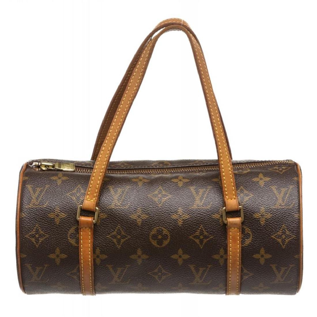 Louis Vuitton Monogram Canvas Leather Papilon 26 cm