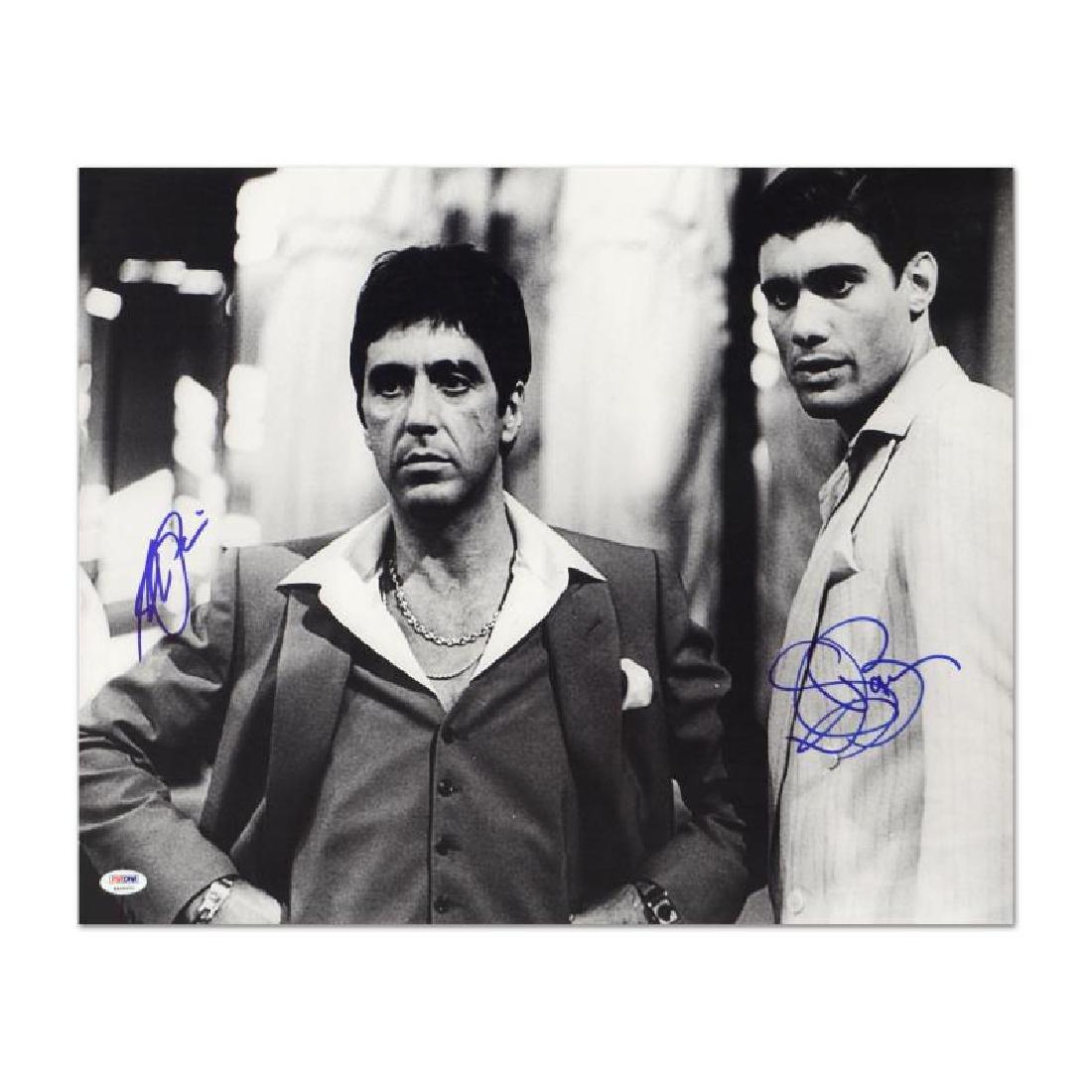Scarface - Al Pacino & Steven Bauer by Pacino, Al