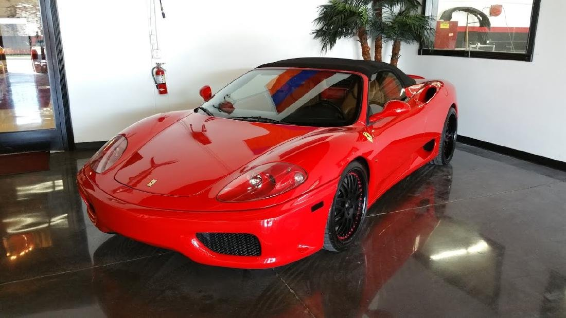2004 Ferrari 360 Modena Spider