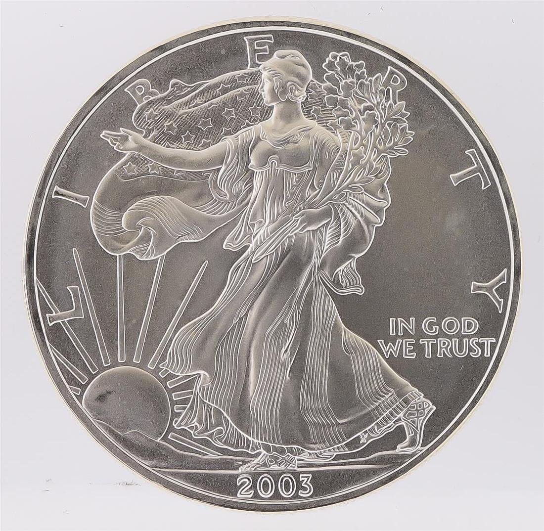 2003 American Silver Eagle Dollar Coin