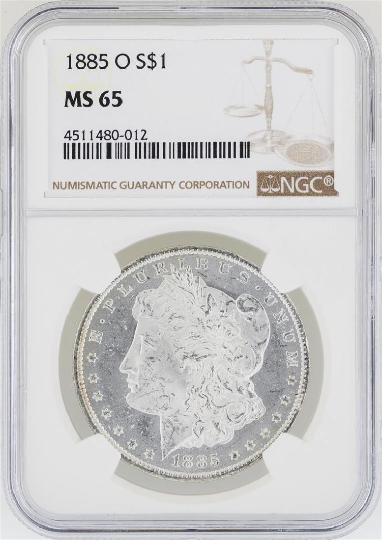 1885-O NGC MS 65 Morgan Silver Dollar