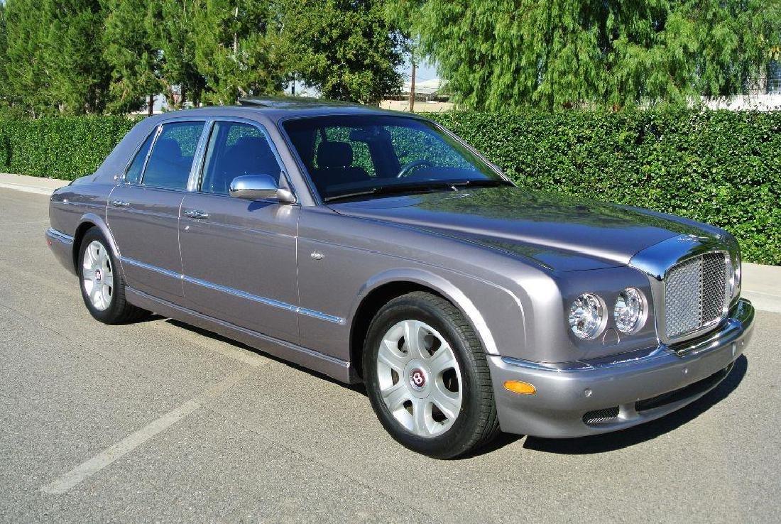 2006 Silver Bentley Arnage R