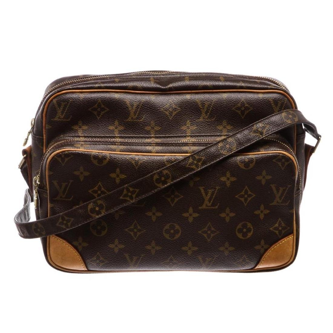 Louis Vuitton Monogram Canvas Leather Nile GM Shoulder