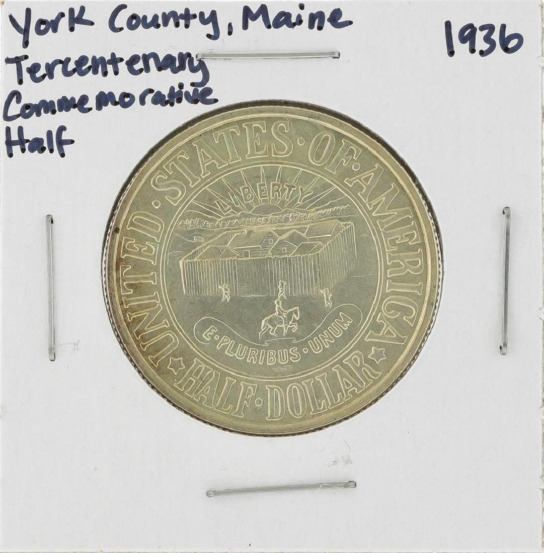 1936 York County, Maine Tercentenary Commemorative Half