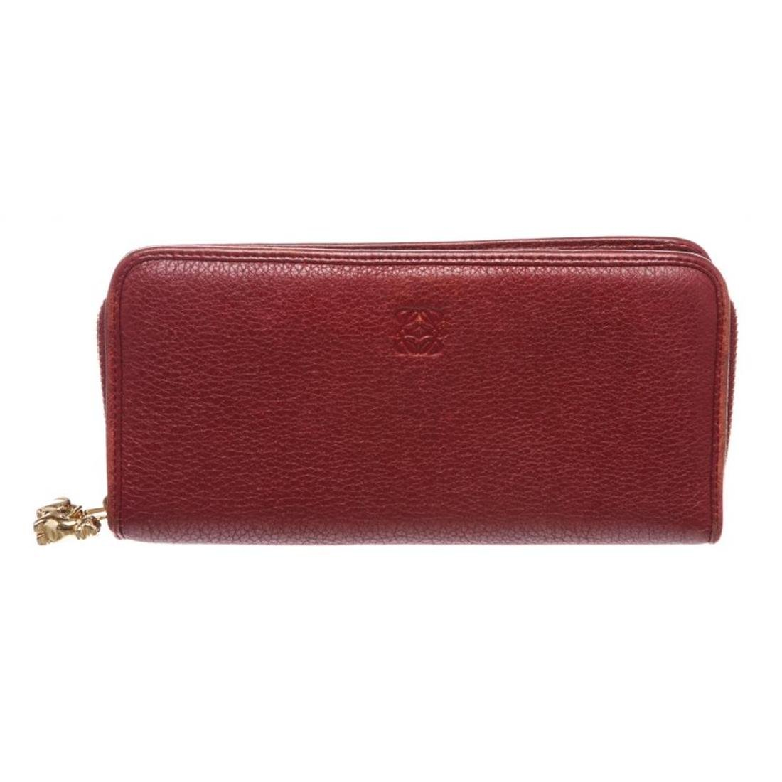 Loewe Red Leather Limited Edition Year of the Dragon