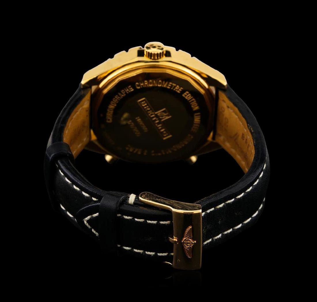 Breitling Chrono-Matic 18KT Rose Gold Men's Watch - 3