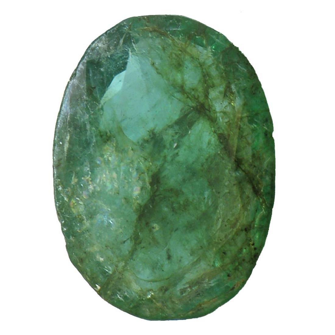 4.01 ctw Oval Emerald Parcel