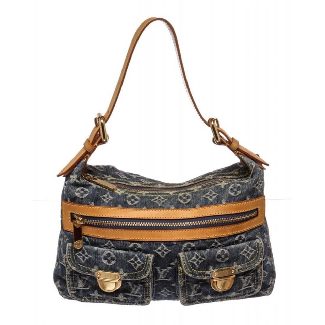 Louis Vuitton Blue Denim Monogram Neo Speedy Bag