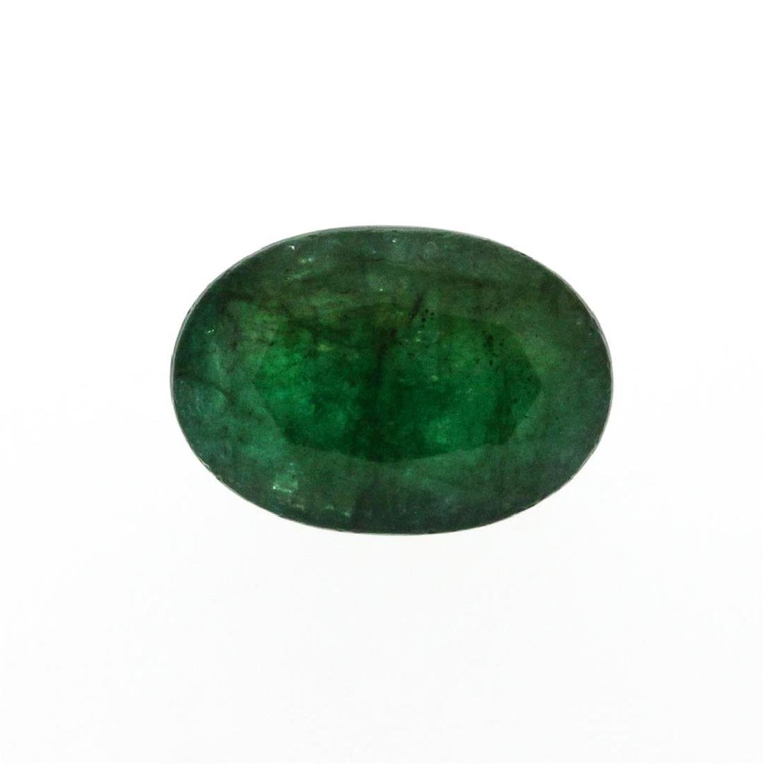 8.13 ct. One Oval Cut Natural Emerald