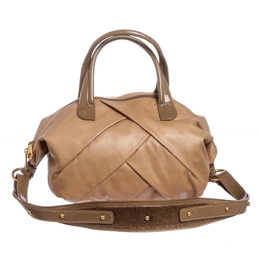 Marc by Marc Jacobs Tan Leather Satchel Handbag