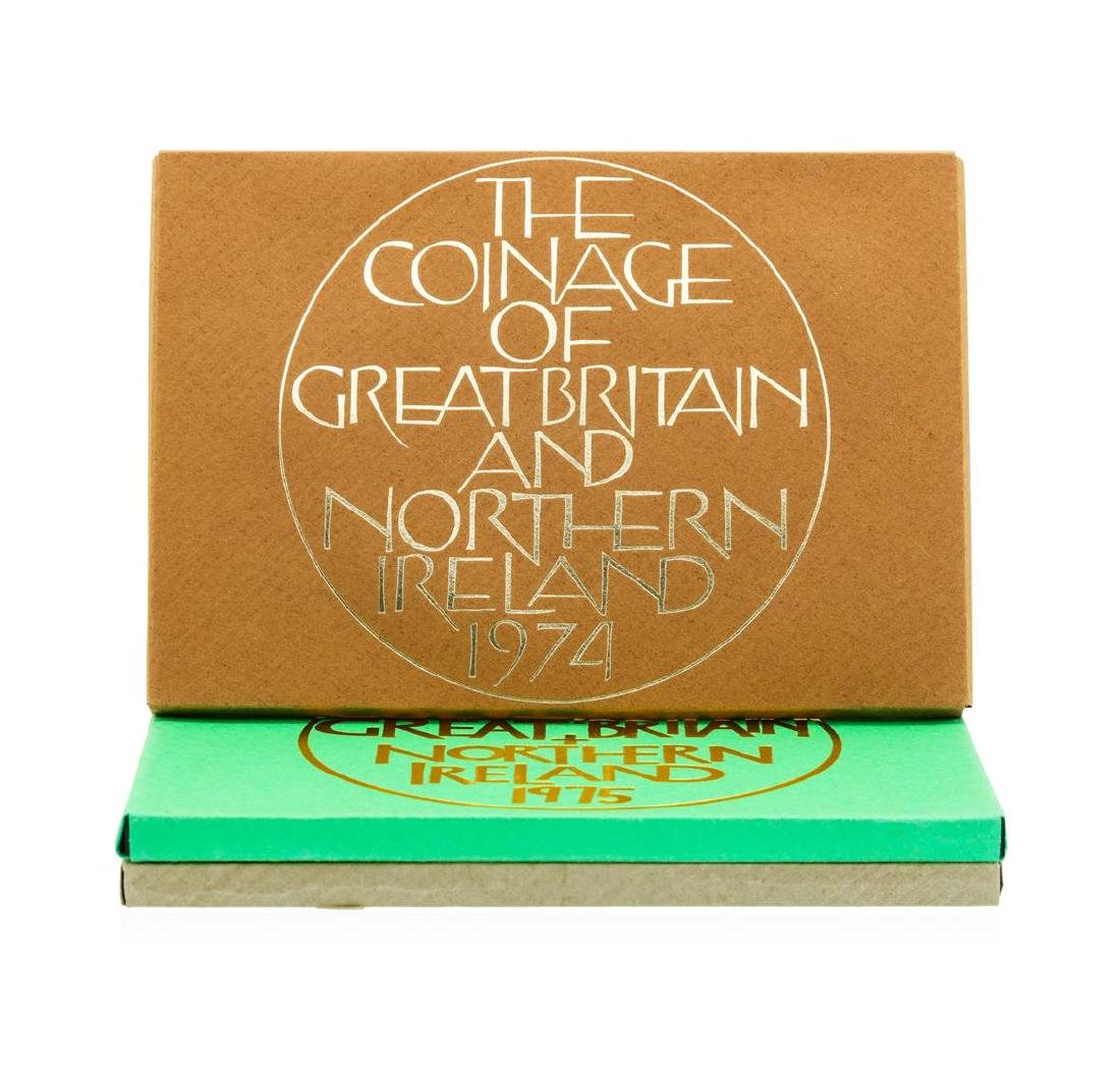 1974-1976 Coinage of Great Britain and Northern Ireland