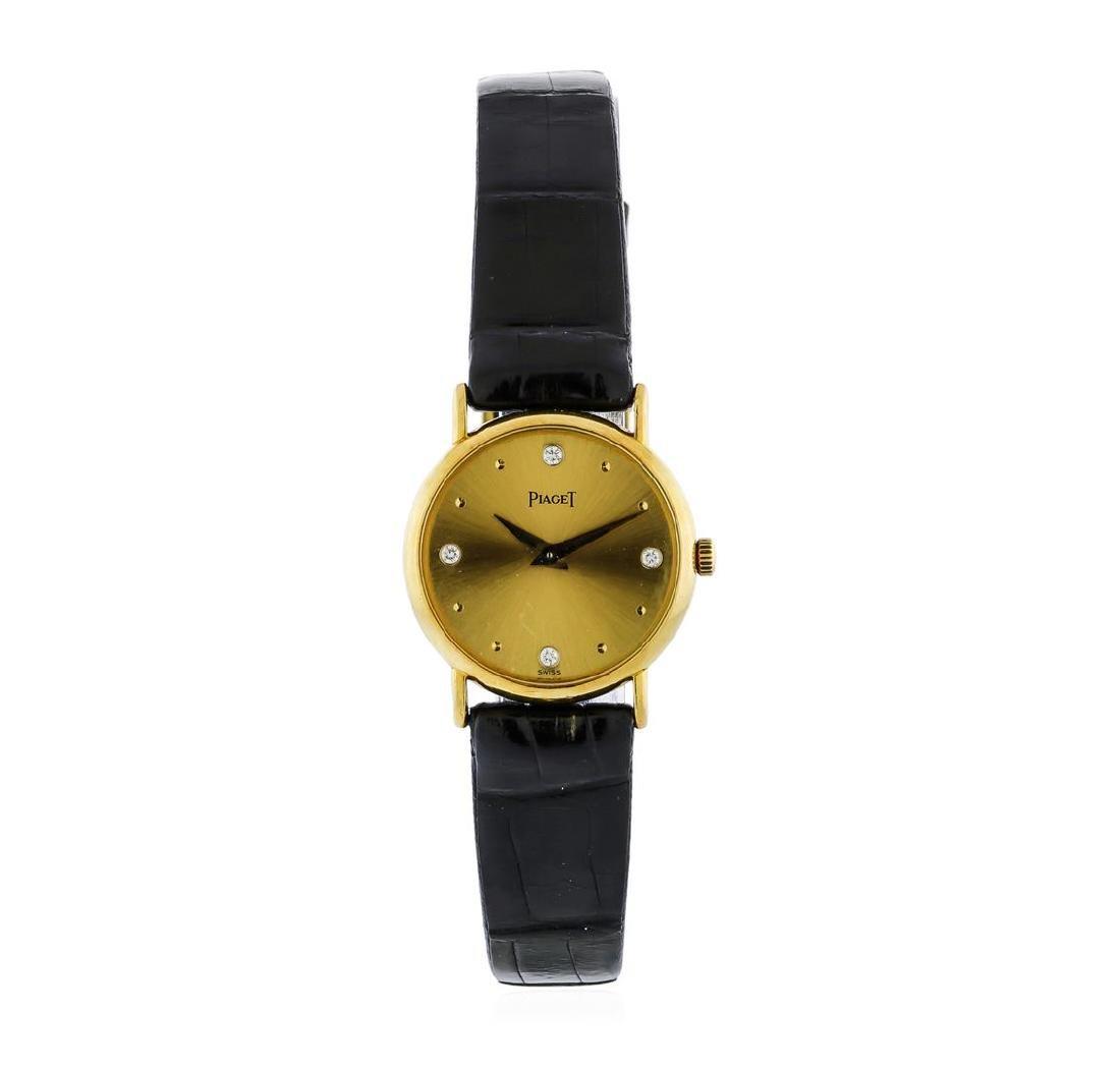 Piaget 18KT Yellow Gold Ladies Watch