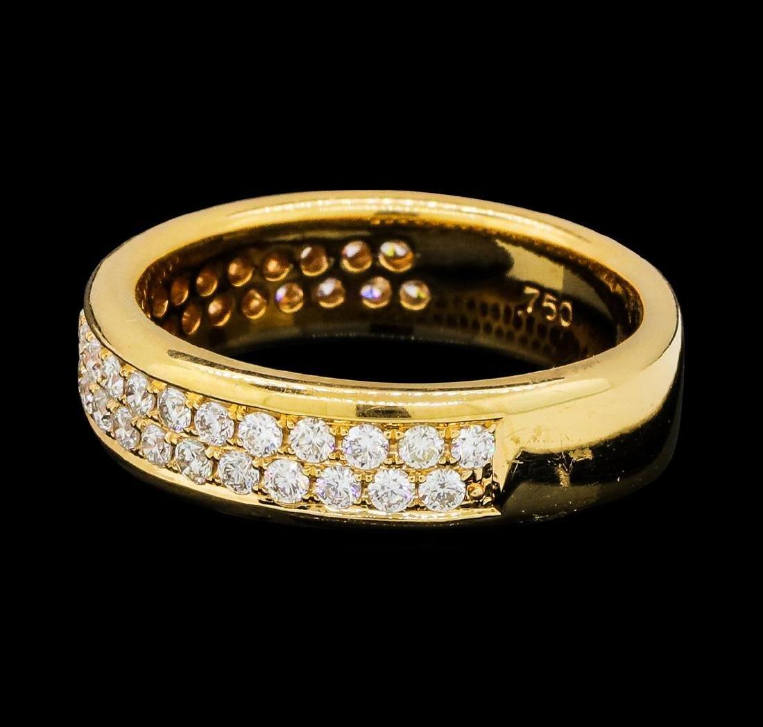 0.79 ctw Diamond Ring - 18KT Rose Gold