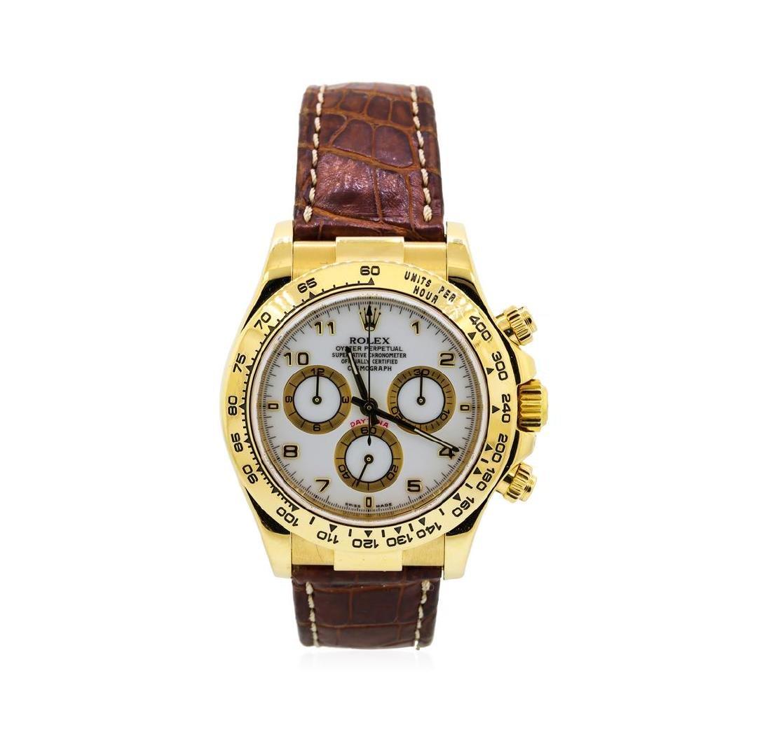 Rolex 18KT Yellow Gold Daytona Cosmograph Watch