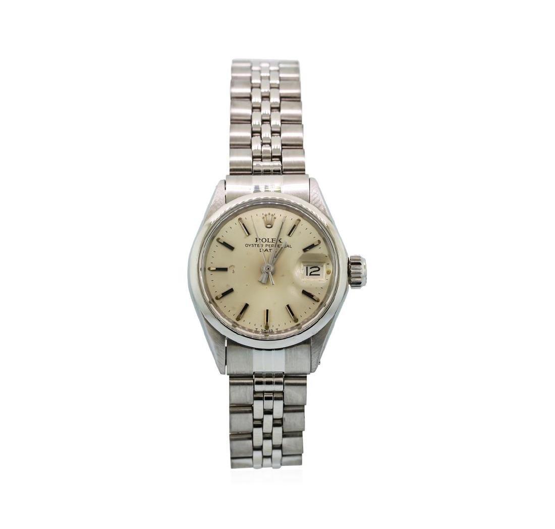 Rolex Stainless Steel Ladies Vintage Date Model Watch