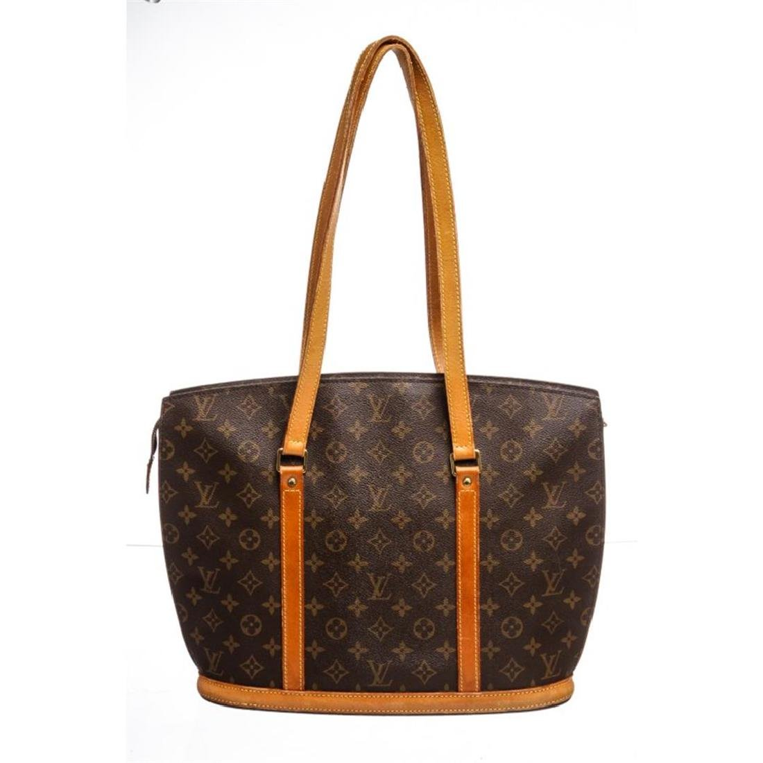 Louis Vuitton Monogram Canvas Leather Babylone Shoulder