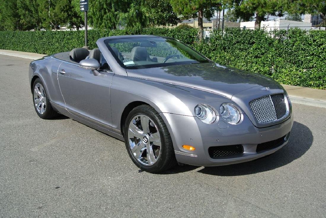 2007 Silver Bentley Continental GTC