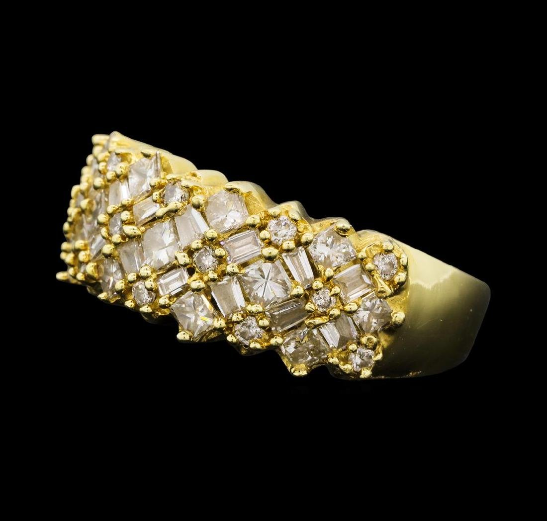 1.47 ctw Diamond Ring - 14KT Yellow Gold