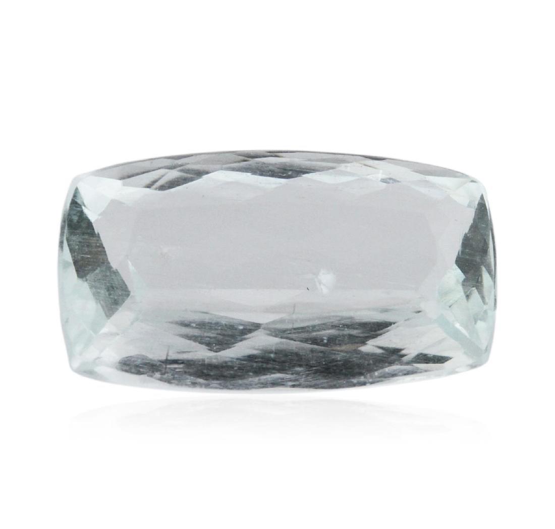 4.56 ctw Cushion Cut Natural Cushion Cut Aquamarine